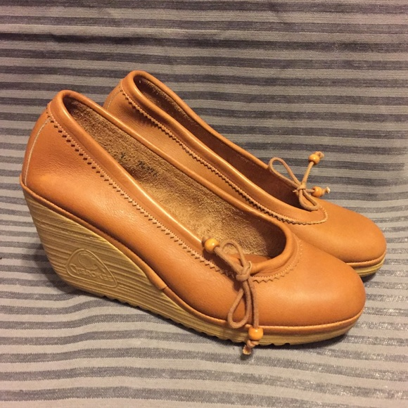 07972733750 Vintage Cherokee Leather Wedges. M 5a73ebd59a9455c3055a526a. Other Shoes ...